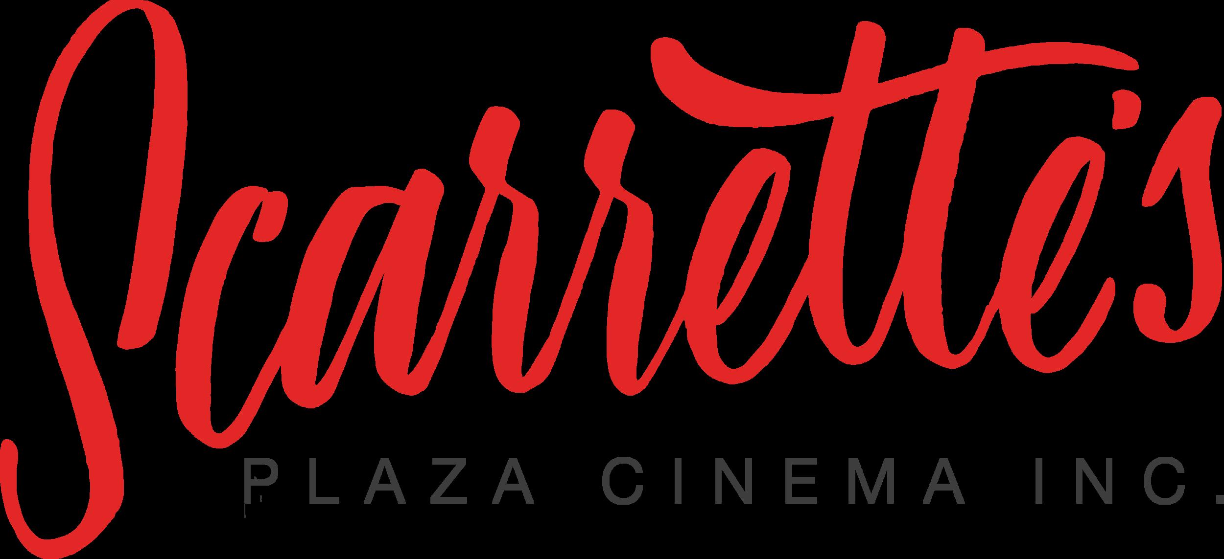 Scarrette's Radford Plaza Cinema Logo by Nineteen54