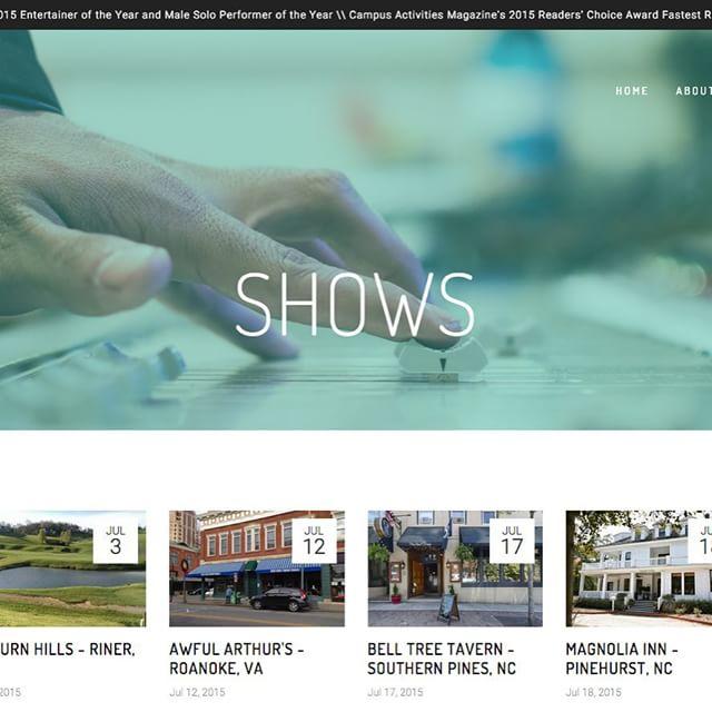 Sneak peek of iammitchclark.com's new website that we are launching tomorrow! #nineteen54