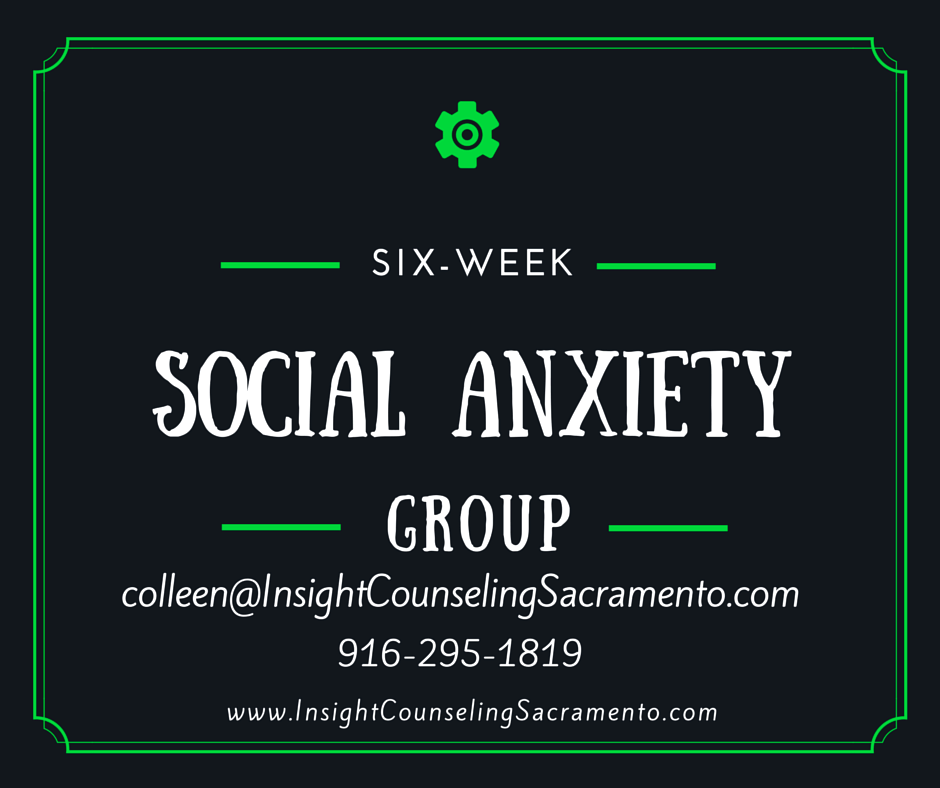 social anxiety group therapy sacramento counseling