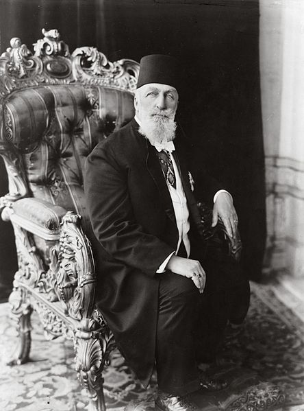 Caliph Abdulmecid II, the last Caliph before Abu Bakr al-Baghdadi. Library of Congress. Public domain via Wikimedia Commons .