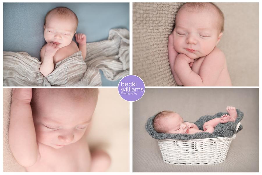 Sonny Newborn Photo Shoot
