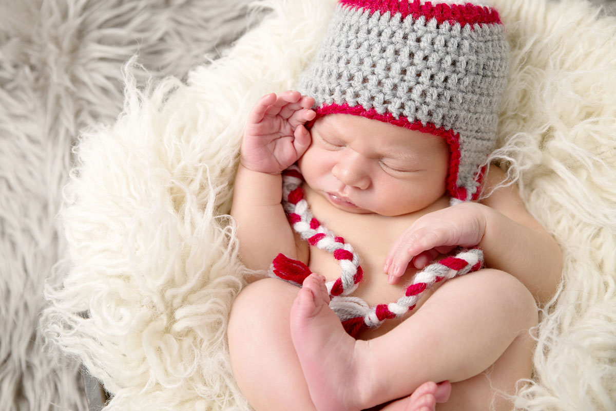Newborn photo shoot St Albans