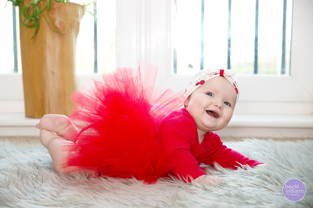 Baby Photos Hemel Hempstead - red tutu
