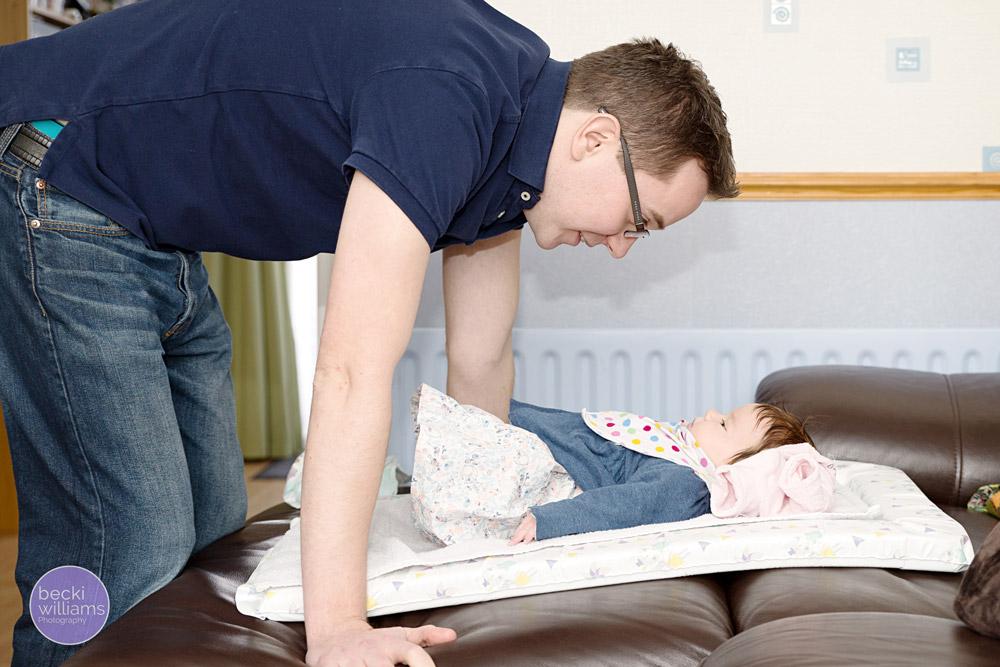 Baby Photographer Hemel Hempstead - changing mat