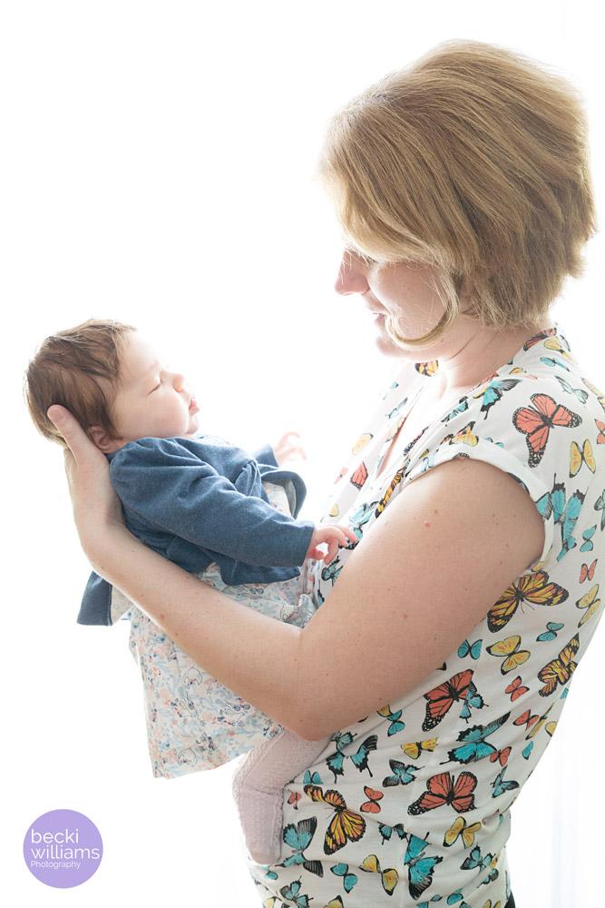 Baby Photographer Hemel Hempstead - Mummy and baby