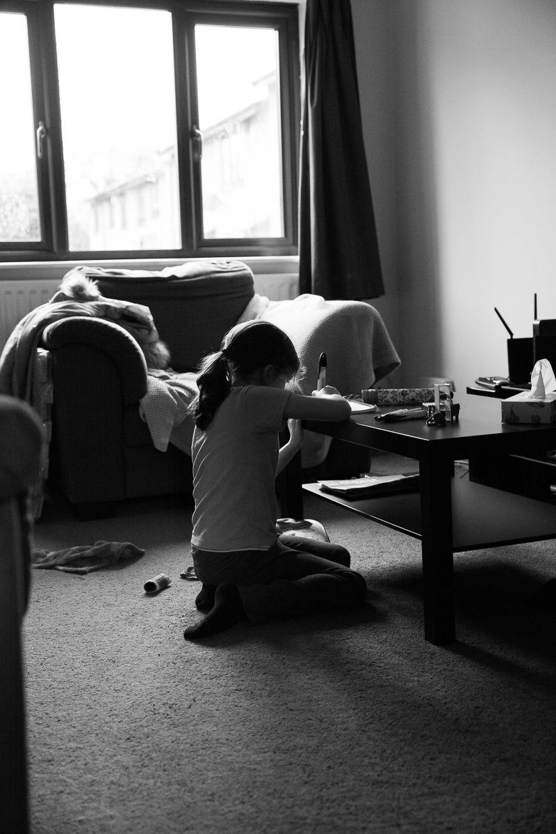 Child Photography Hemel Hempstead Black and White