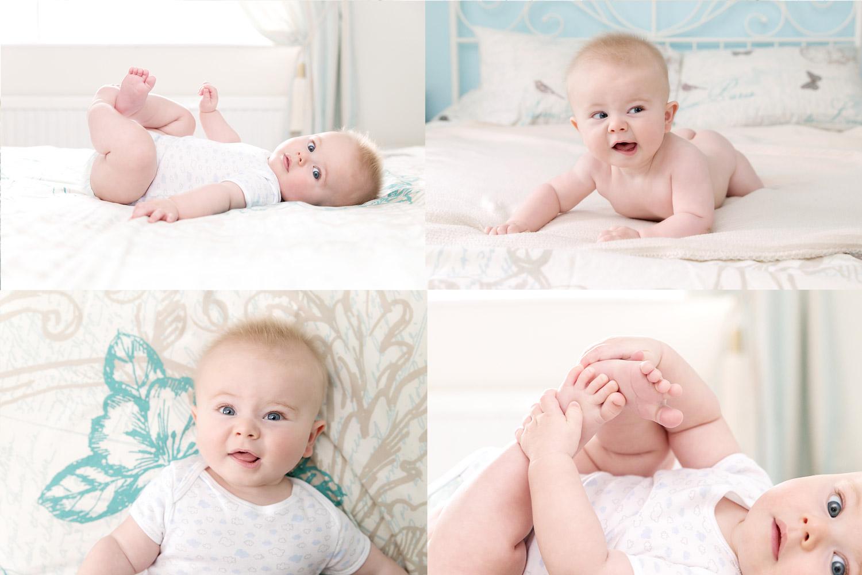 baby-photography-hemel-hempstead-boy-bed-at-home-cheeky