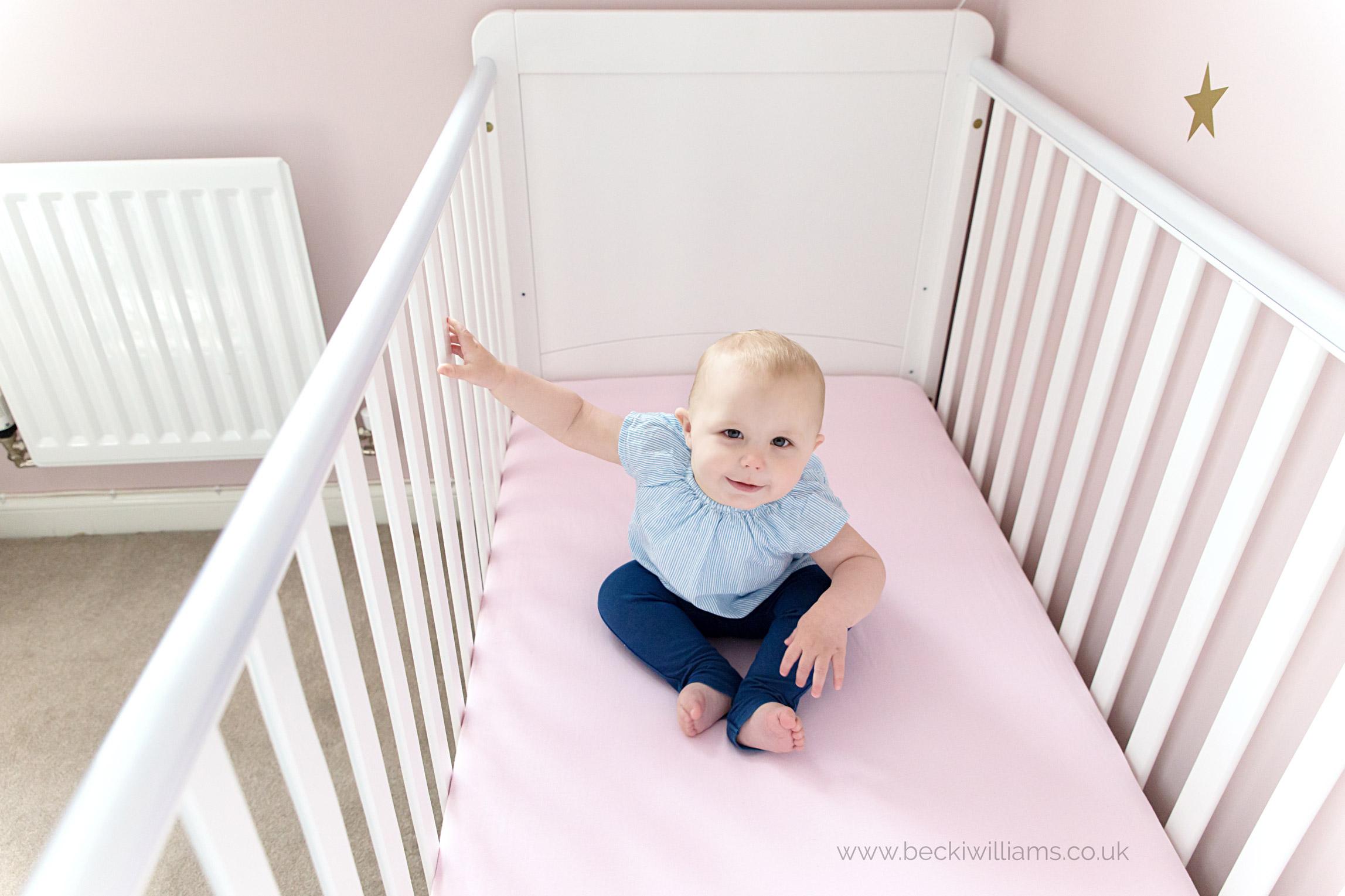 baby-photographer-hemel-hempstead-1-year-old-at-home-cot