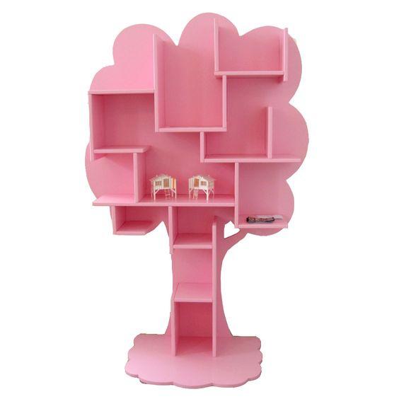 nubie bookshelf for a colourful nursery