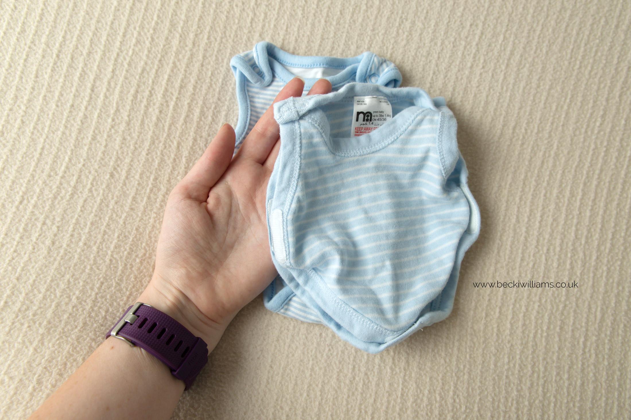 premature small baby vests