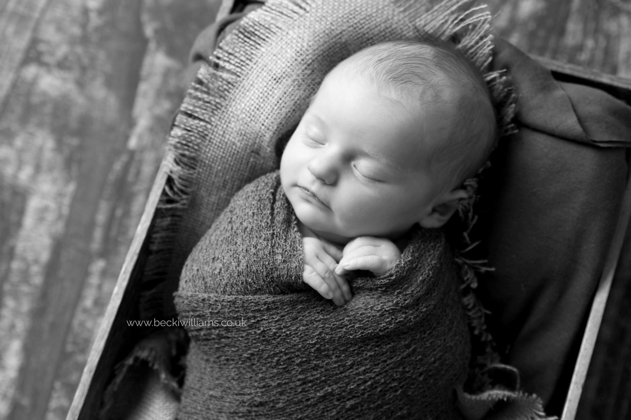 newborn-photography-st-albans-black-and-white-studio-crate-box.jpg
