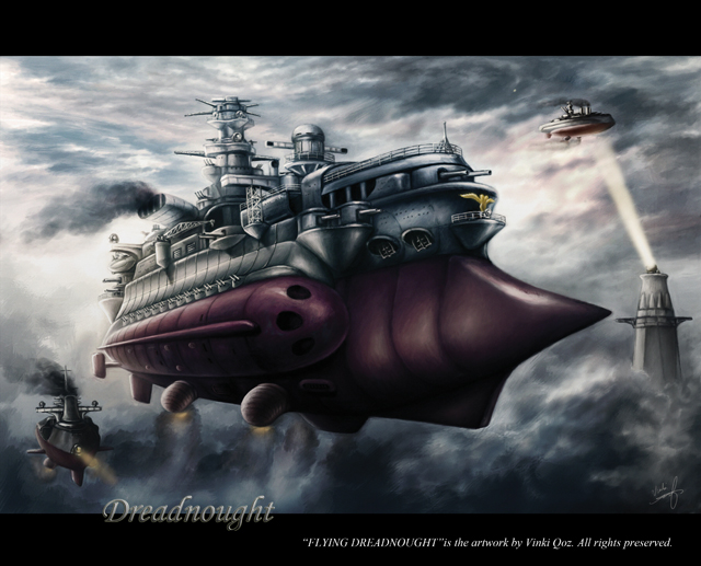"""Flying Dreadnought"" by Vinki Qoz"