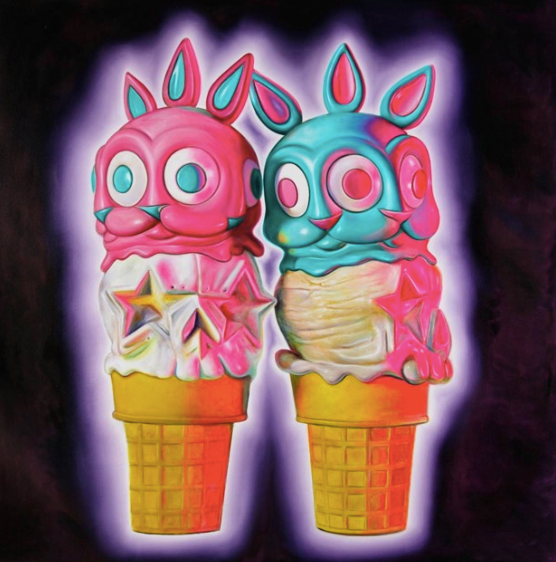 """Ice Cream"" by Ron English"
