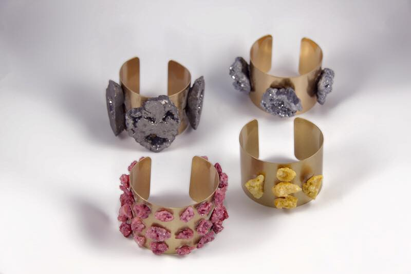 """""""People will stare, make it worth their while"""" with RJBIJOUX cuff bracelets"""