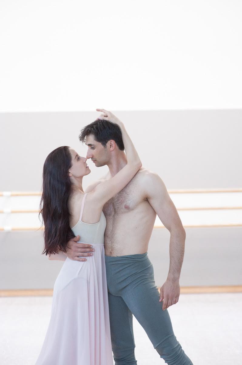 Vanessa Zahorian and Davit Karapetian. Photo by  Lauri Levenfeld .