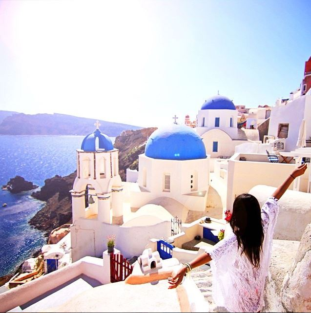 @Leahliah Instagram - Santorini, Greece