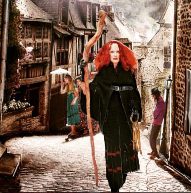 Rachel Feinstein's fairy tale for @nymag Fall Fashion