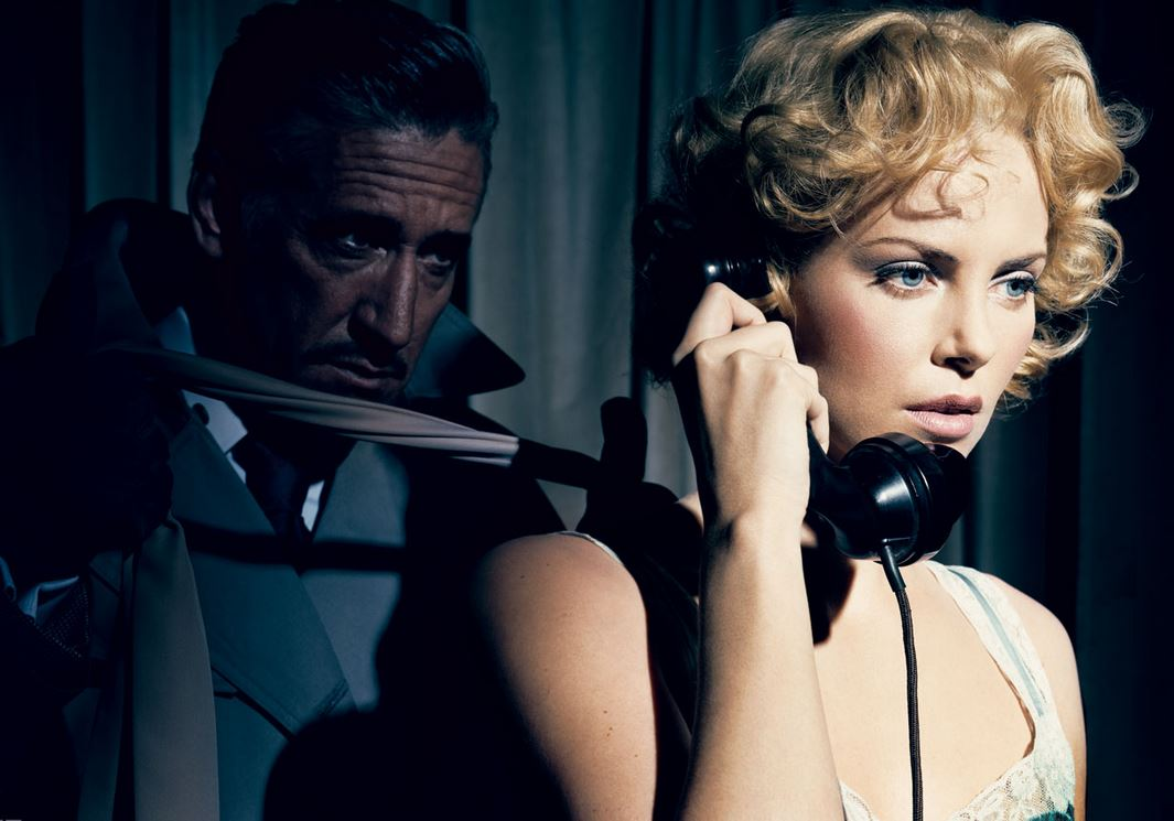 Dial M for Murder,  1954  Charlize Theron.  Photograph by Norman Jean Roy.