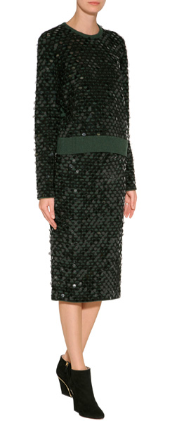 CÉDRIC CHARLIER   Sequined Wool Pullover  CLICK IMAGE TO SHOP
