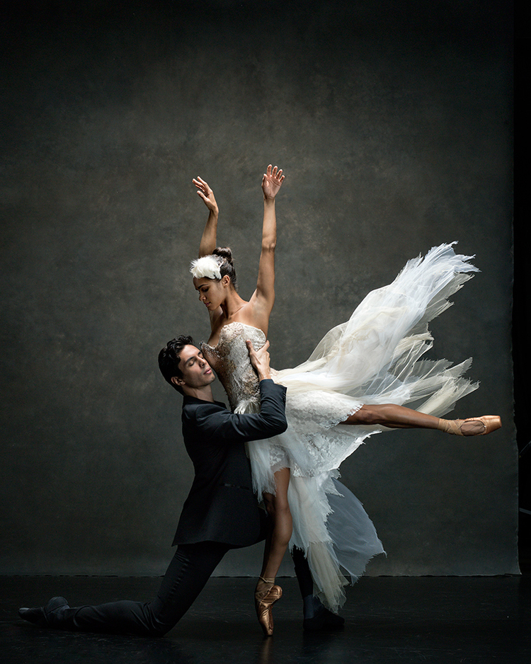 "Misty Copeland  Principal dancer with American Ballet Theatre.  Dancing with Alexandre Hammoudi, Soloist with American Ballet Theatre  ""After dancing Swan Lake, you feel like you can conquer the world."""