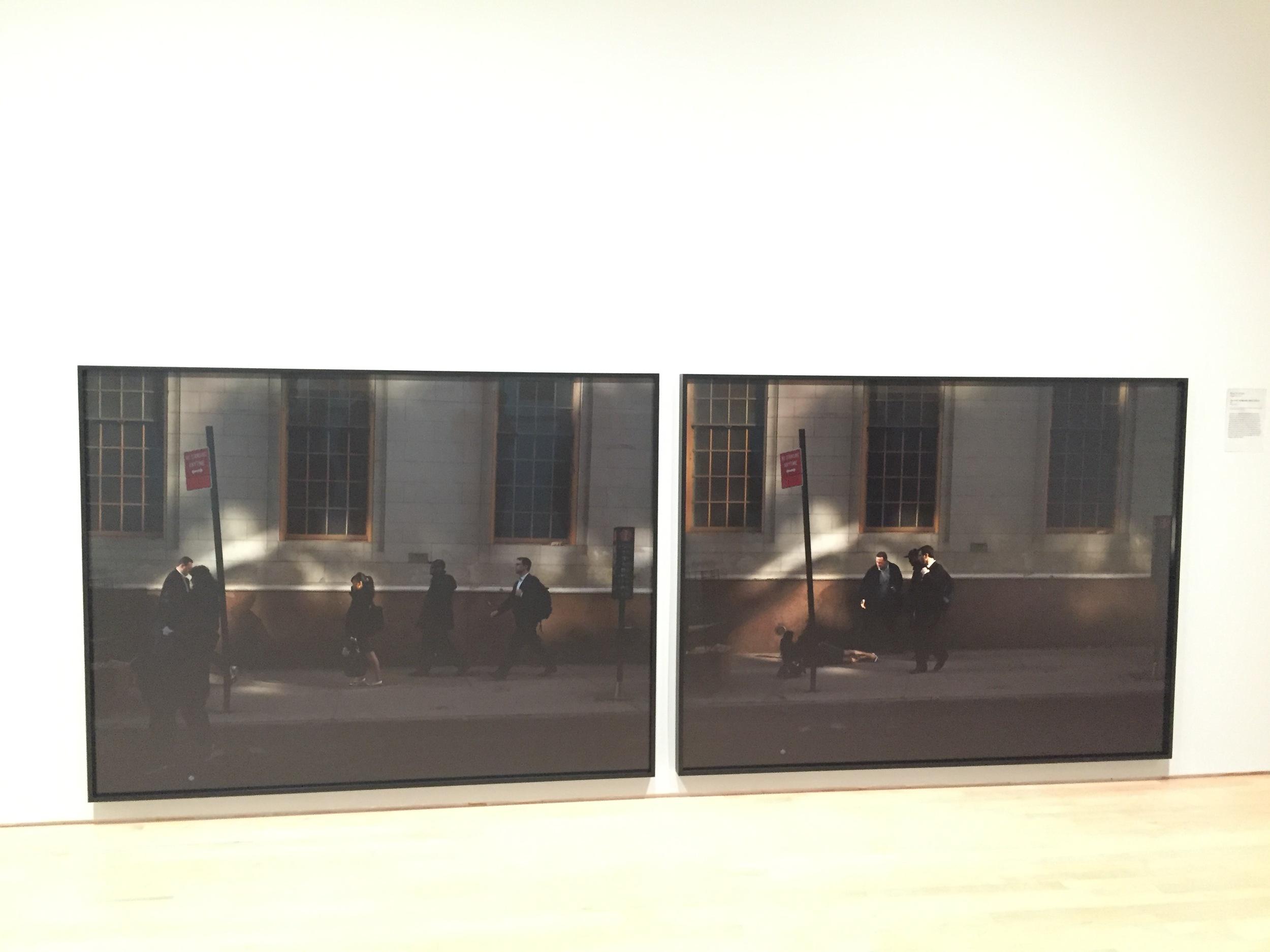 Paul Graham English , born 1956 - Fulton Street , 11th November 2009, 11.29.10 a.m. 2009 Inkjet prints
