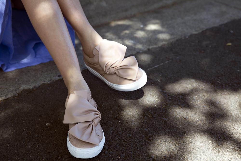 SHOP Josefinas Bow Sneaker
