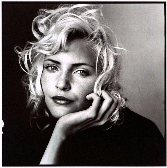 """Platinum Hit"" Nadja Auermann by Irving Penn Vogue US, July 1994"
