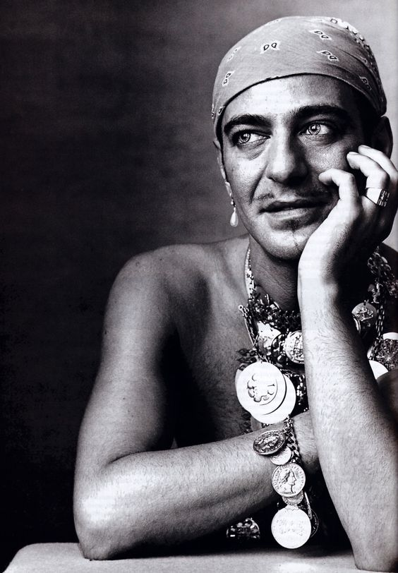 John Galliano photographed by Irving Penn for American Vogue, November 1996.