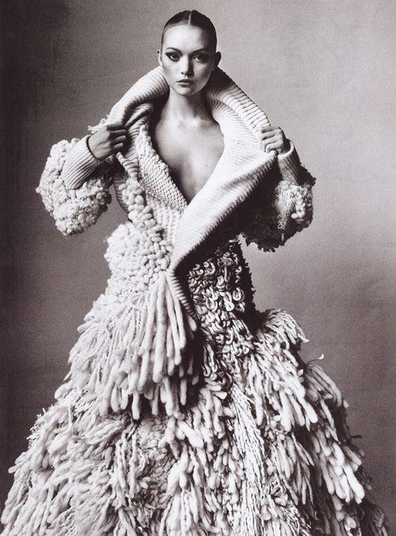 Gemma Ward | Photography by Irving Penn | For Vogue Magazine US | March 2006