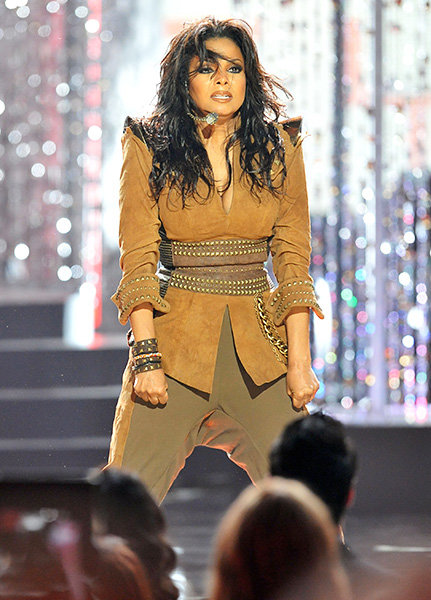 Janet Jackson in 2009  Janet Jackson performed at the 2009 American Music Awards.