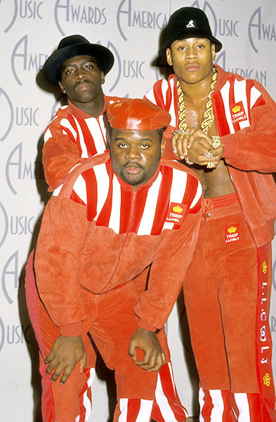 LL Cool J in 1988  LL Cool J and his posse on the AMAs red carpet in 1988.