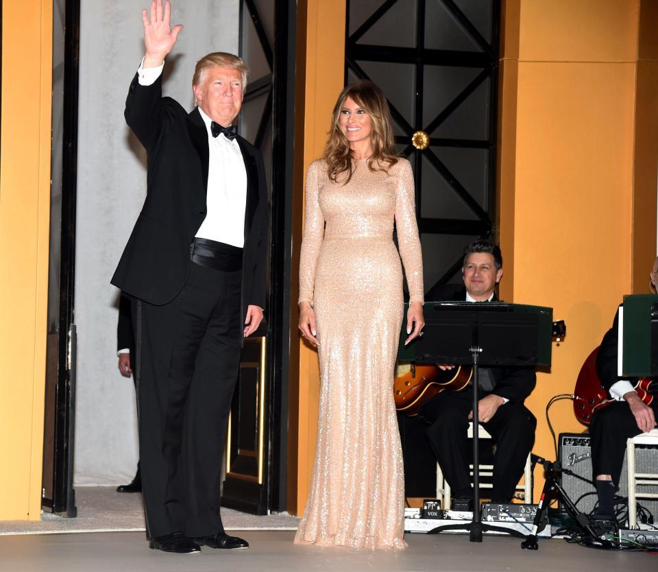 Behind First Lady Melania Trump Inauguration Ball Dress And More Gazette Du Bon Ton