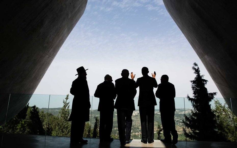 """Holocaust Museum, Jerusalem  Obama addressed a crowd on the importance of """"never again"""" when it comes to the treacherous moments of our world's history. You can read the entire speech on the  White House website ."""