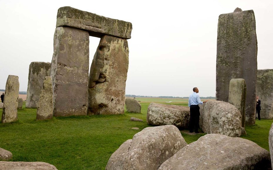 Stonehenge, England  The best presidential perk may be taking in the world's most mysterious places minus the crowdslike the time Obama got to admire Stonehenge without the buzz of onlookers.