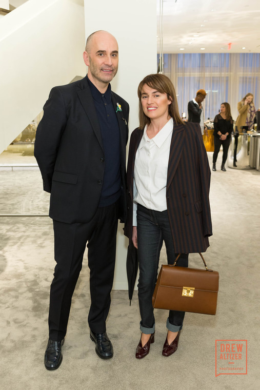 Fabrizio Viti and JOLIEGAZETTE Founder, Juliet Belkin