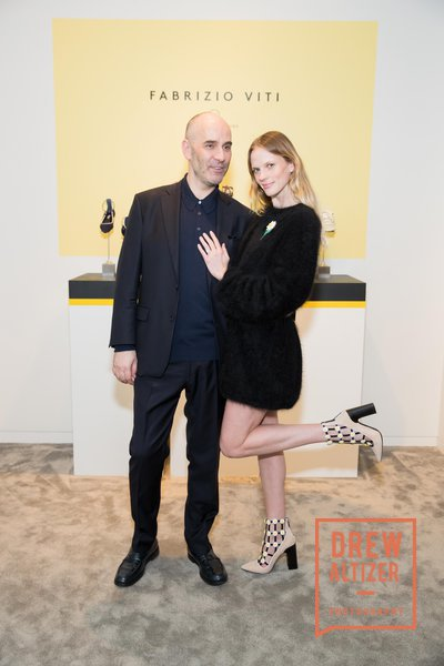 Fabrizio Viti and model Anne Vyalitzina