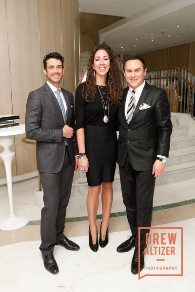 Federico Sandino, Gina Originario and luxury real estate veteran   Joel Goodrich.