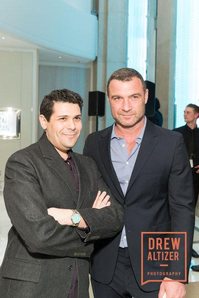 Ariel Adams and Liev Schreiber