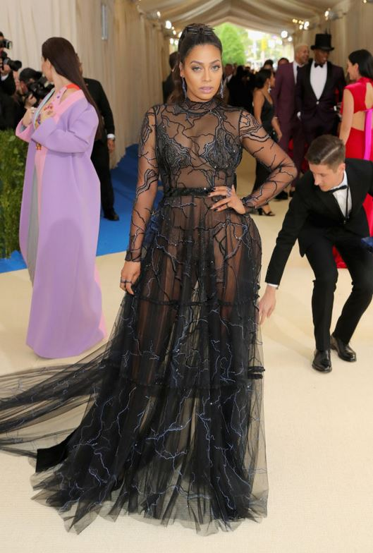 La La Anthony attends the 'Rei Kawakubo/Comme des Garcons: Art Of The In-Between' Costume Institute Gala at Metropolitan Museum of Art on May 1, 2017 -