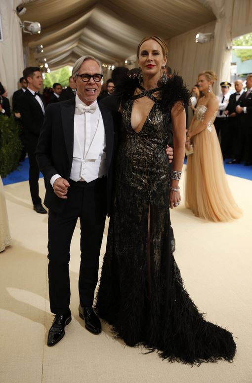 Tommy Hilfiger and Dee Ocleppo -