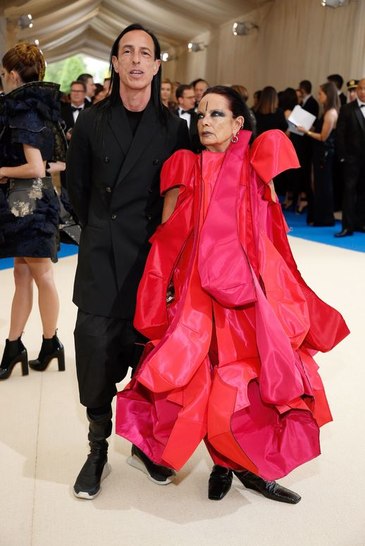 Rick Owens and Michèle Lamy -