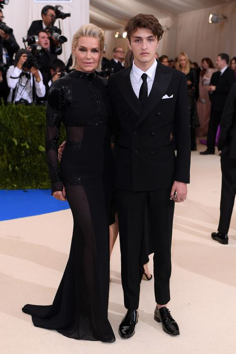 Yolanda Foster and Anwar Hadid -