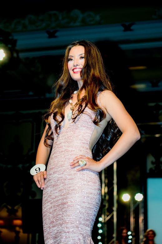 2nd runner up  Almaty, Kazakhstan native, Akmaral Duisenbekkyzy. Akmaral graduated from Kazakh National University with a specialization in Government and Local Administration. In Kazakhstan, she was socially active, especially in endurance cycling. Akmaral was Miss Cycling Sport in 2012, and went on to become Miss Sport in the 2012 Miss Kazakhstan beauty contest. In the same contest, she ranked first in an online poll run by independent website VoxPopuli, and was among the top 10 finalists in the Miss Kazakhstan beauty contest. She has experience in the charity organization Bota Foundation, which was supervised by World Bank and worked closely with international institutions such as the UN, Save the Children, and IREX. The Foundation's mission was to improve the lives of vulnerable children and youth suffering from poverty in Kazakhstan through investment in their health, education, and social welfare.