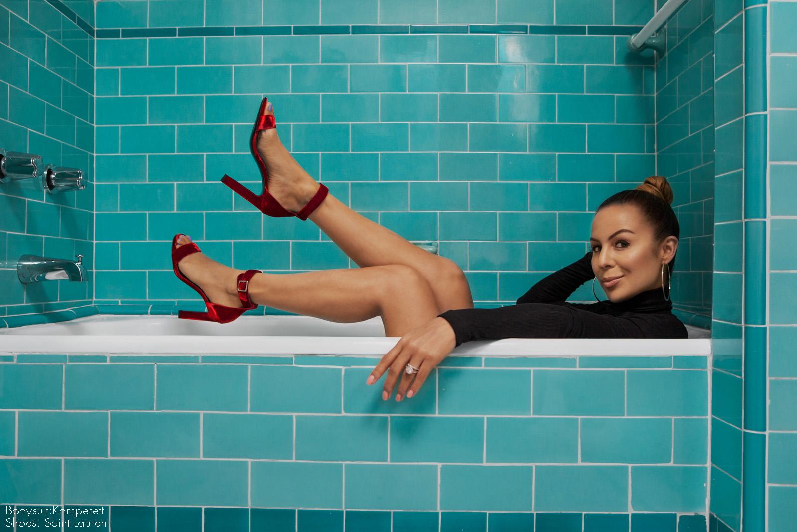 Comedian Anjelah Johnson Mahalo shot by Amaris Granado for Joliegazette Los Angeles, CA