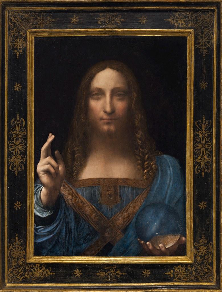 Leonardo Da Vinci,  Salvator Mundi , c. 1500Photo: Courtesy of Christie's