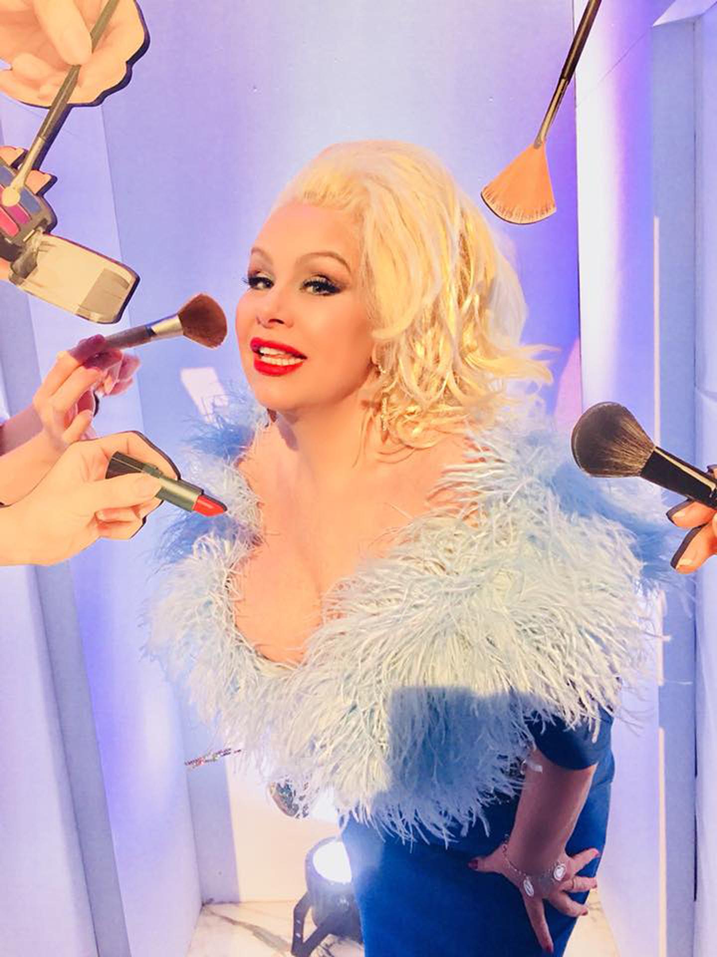 Dianne Brill in Alcone Selfie Make up Booth.jpg
