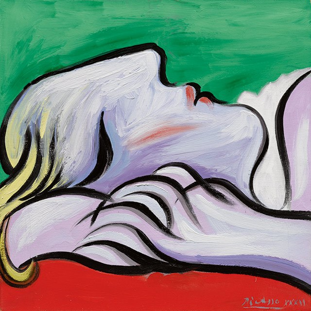 Pablo Picasso, Le Repos , 1932, a highlight of Sotheby's Impressionist & Modern Art evening sale.Courtesy of Sotheby's