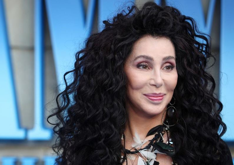 FILE PHOTO: Cher attends the world premiere of Mamma Mia! Here We Go Again at the Apollo in Hammersmith, London, Britain, July 16, 2018. REUTERS/Hannah McKay/File Photo