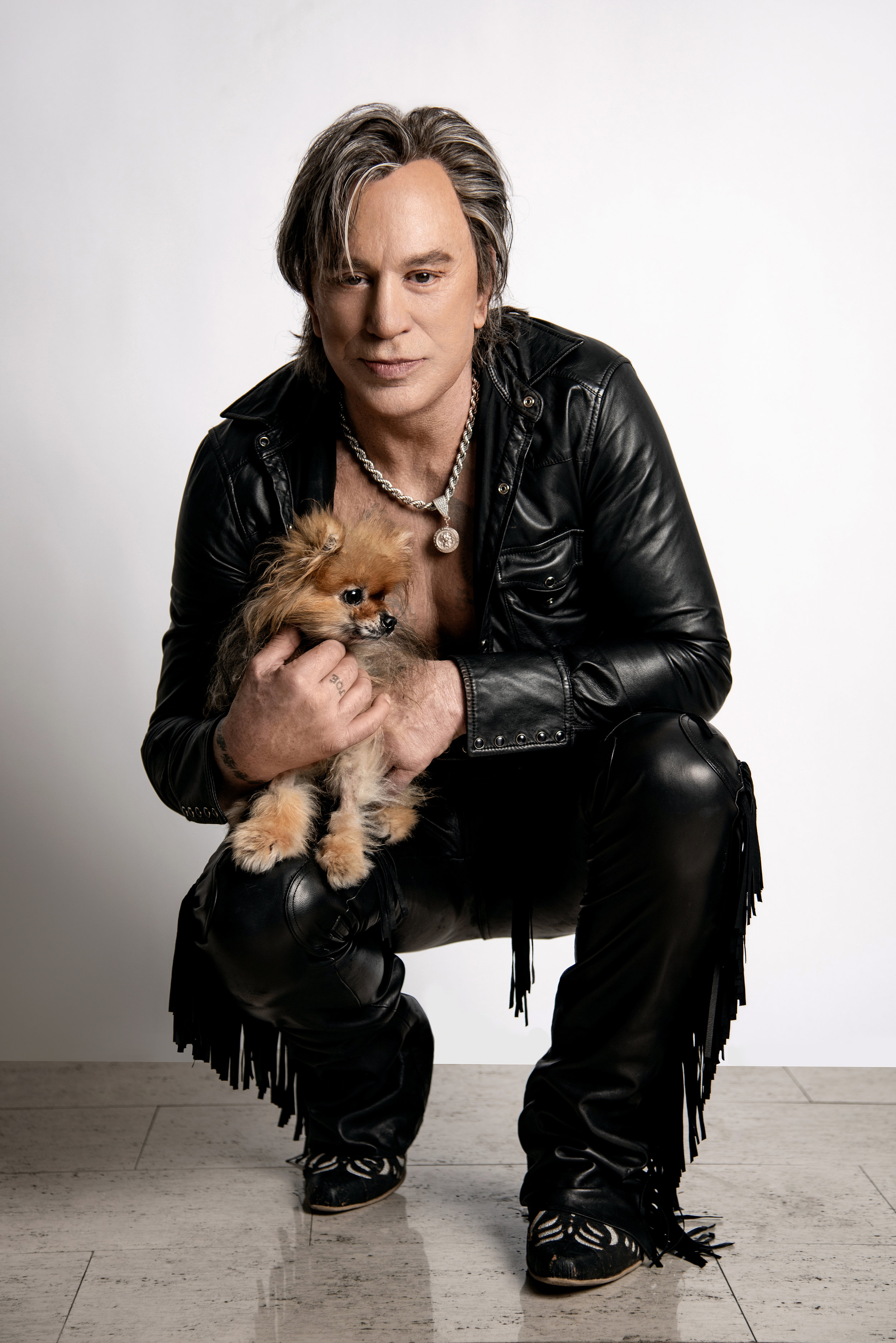 Mickey Rourke and #1