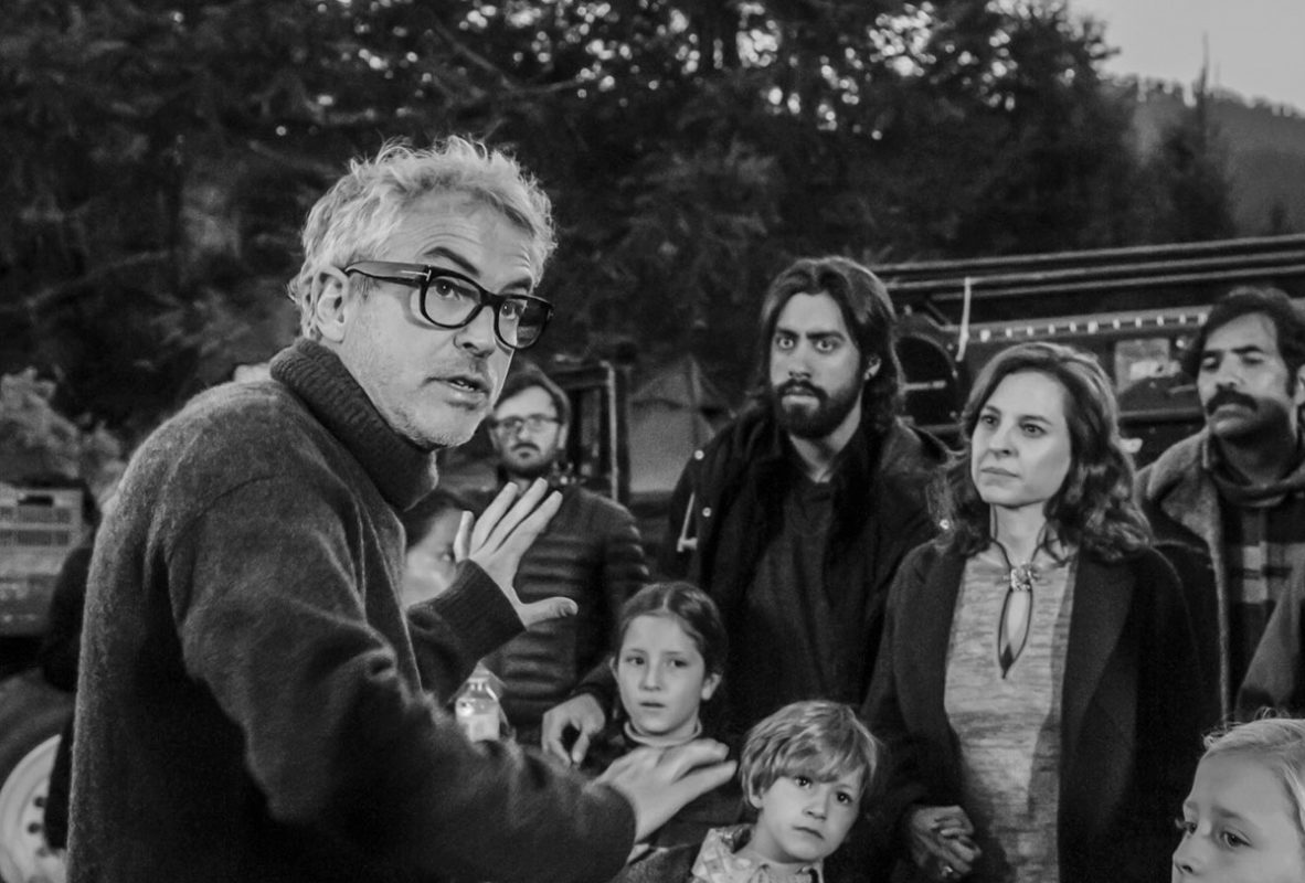 Alfonso Cuarón for ROMA